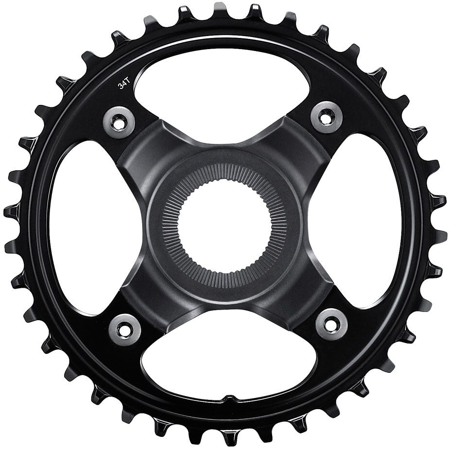Shimano STEPS SM-CRE80 STEPS chainring for FC-E8000, 38T 53mm chainline
