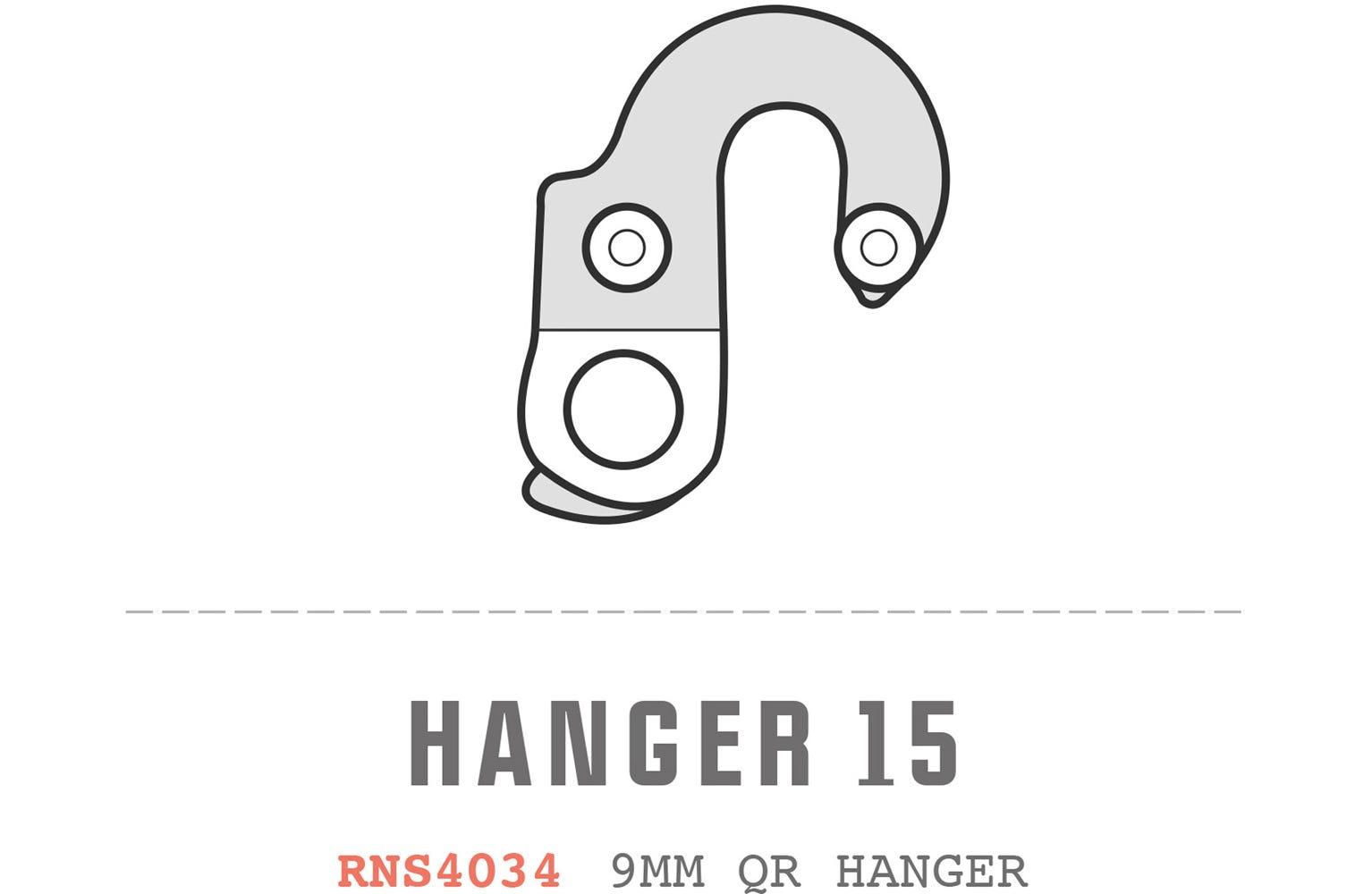 Saracen Hanger 15 fits: All Tufftrax 2012 Models, All Tufftrax 2013 Models, Kili Exper