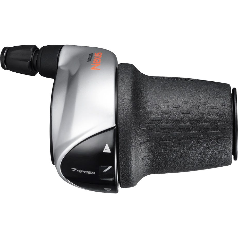 Shimano Nexus SL-C3000 Nexus 7-speed Revo shifter, right hand, silver