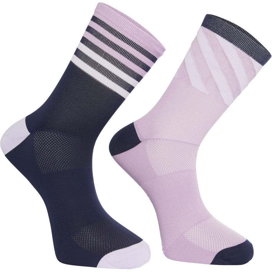Madison Sportive mid sock twin pack, diamonds