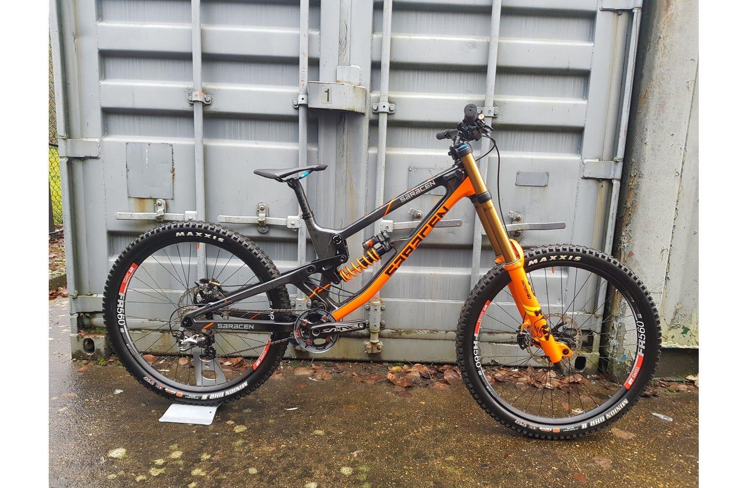 Saracen Myst Team Factory Ex Brand Sample Bike