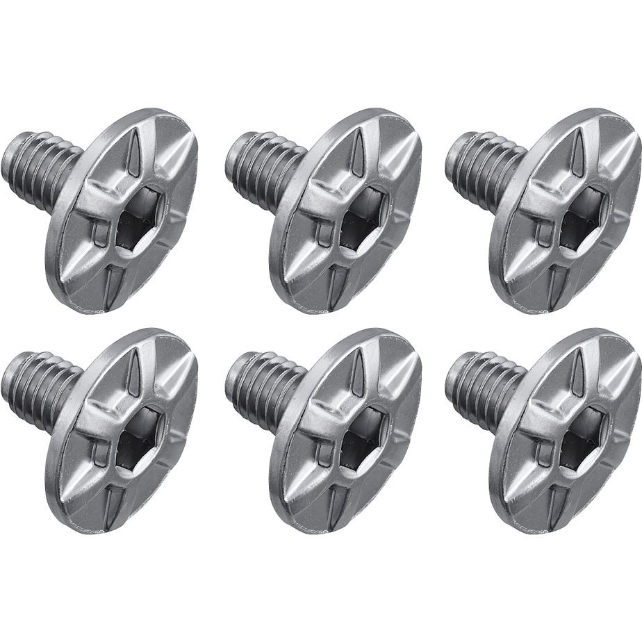 Shimano Spares PD-R9100 cleat fixing bolt, M5 x 8 mm, pack of 6