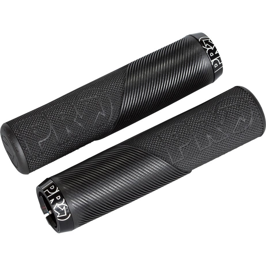 PRO Trail Lock On Grips, without Flange, 32mm, Black