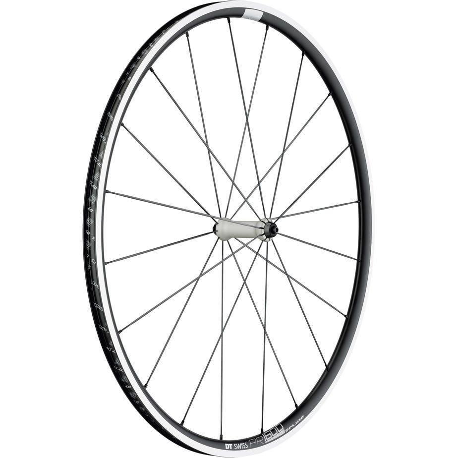 DT Swiss PR 1600 SPLINE wheel, clincher 23 x 18 mm, front