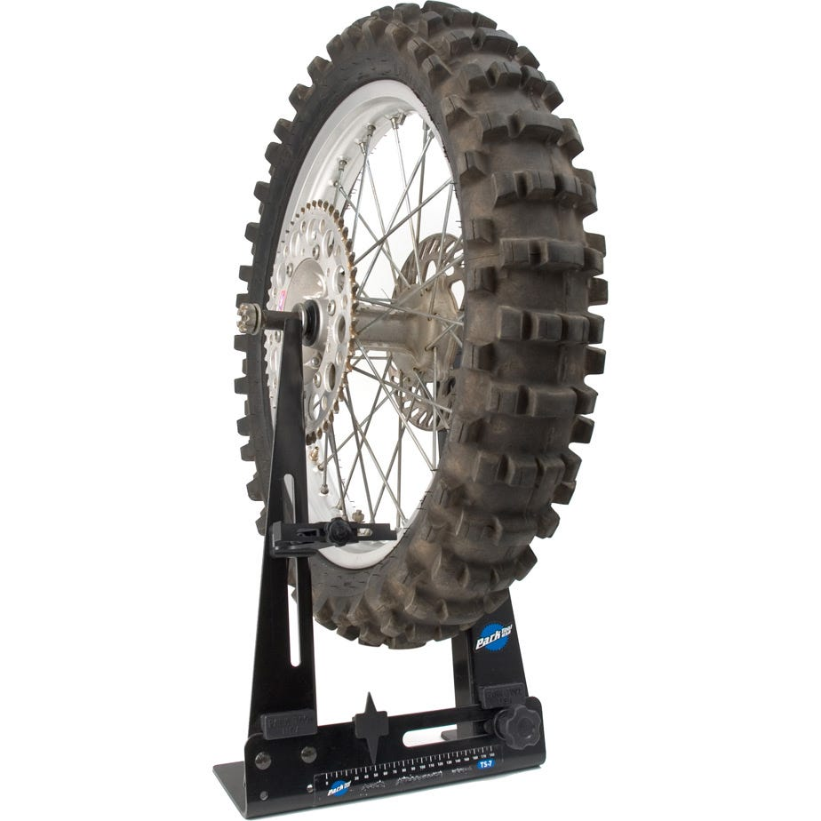 Park Tool TS-7M - Home Mechanic Wheel Truing Stand (Max Axle Width 180 mm)