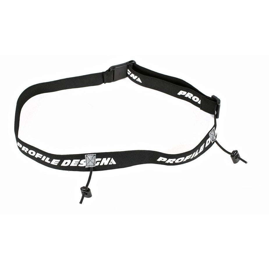 Profile Design Multisport Race Number Belt - black