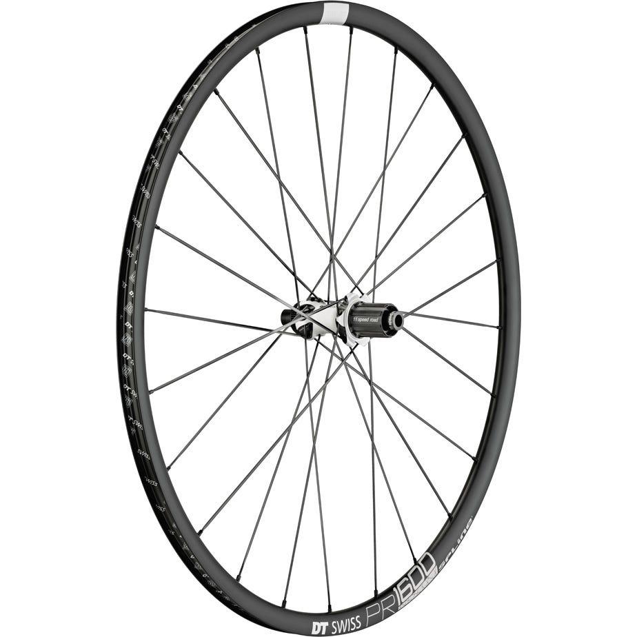 DT Swiss PR 1600 SPLINE disc brake wheel, clincher 23 x 18 mm, rear