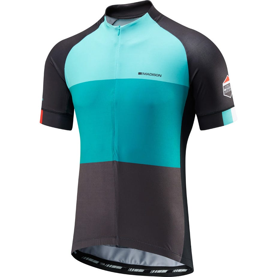 Madison Sportive half-zip men's short sleeve jersey