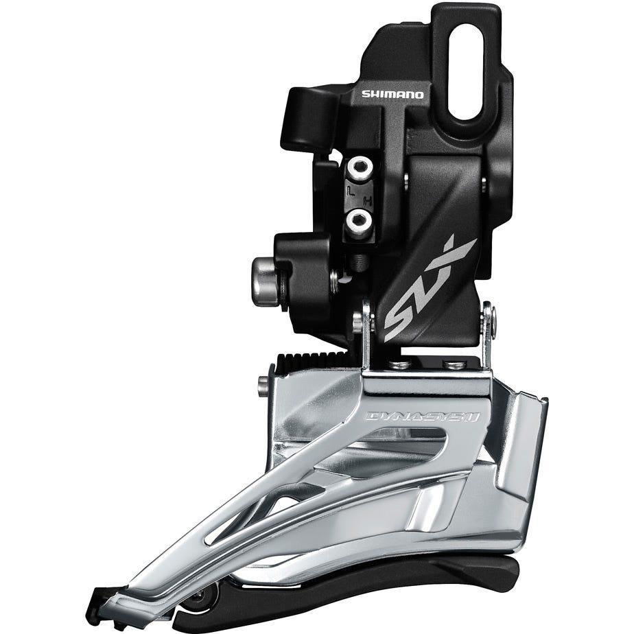 Shimano SLX SLX M7025-D double 11-spd front derailleur, direct mount, down swing, dual-pull