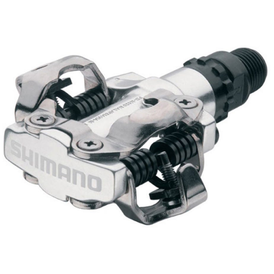 Shimano Pedals PD-M520 MTB SPD pedals - two sided mechanism, silver