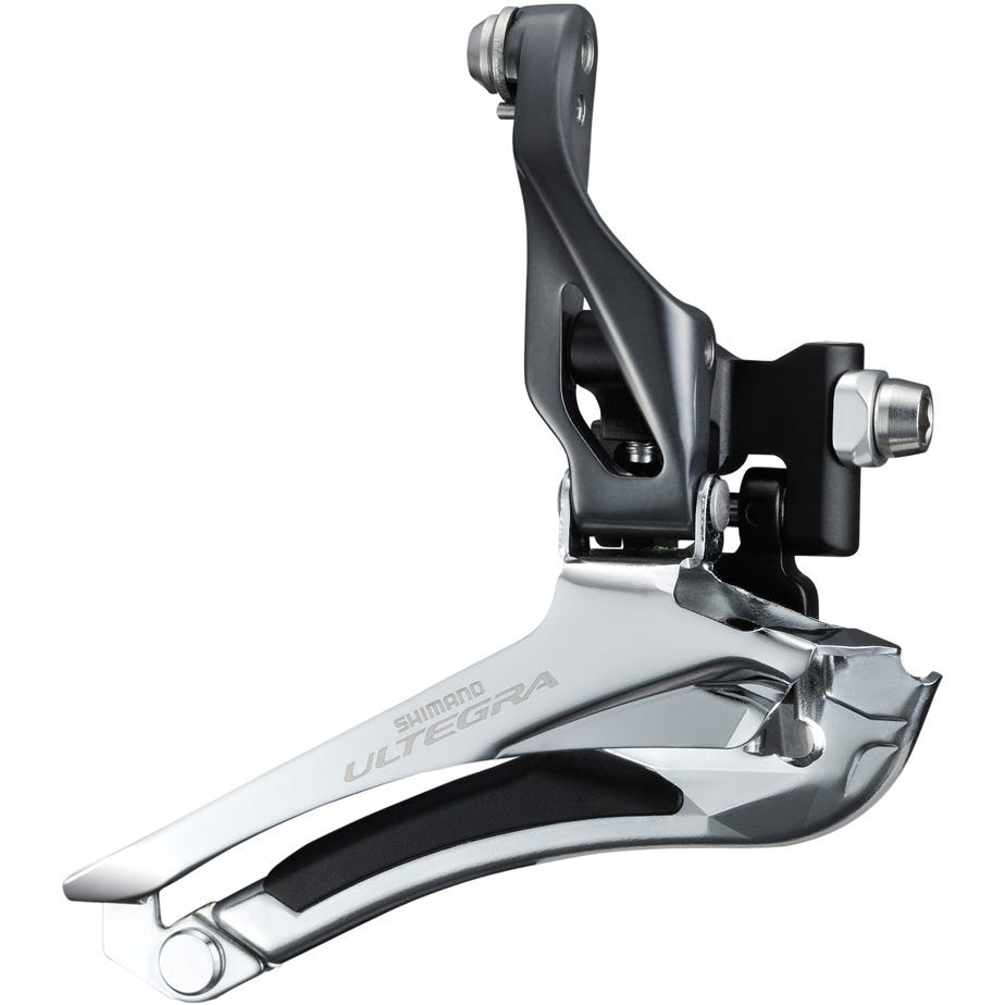 Shimano Ultegra FD-6800 Ultegra 11-speed front derailleur, double braze on