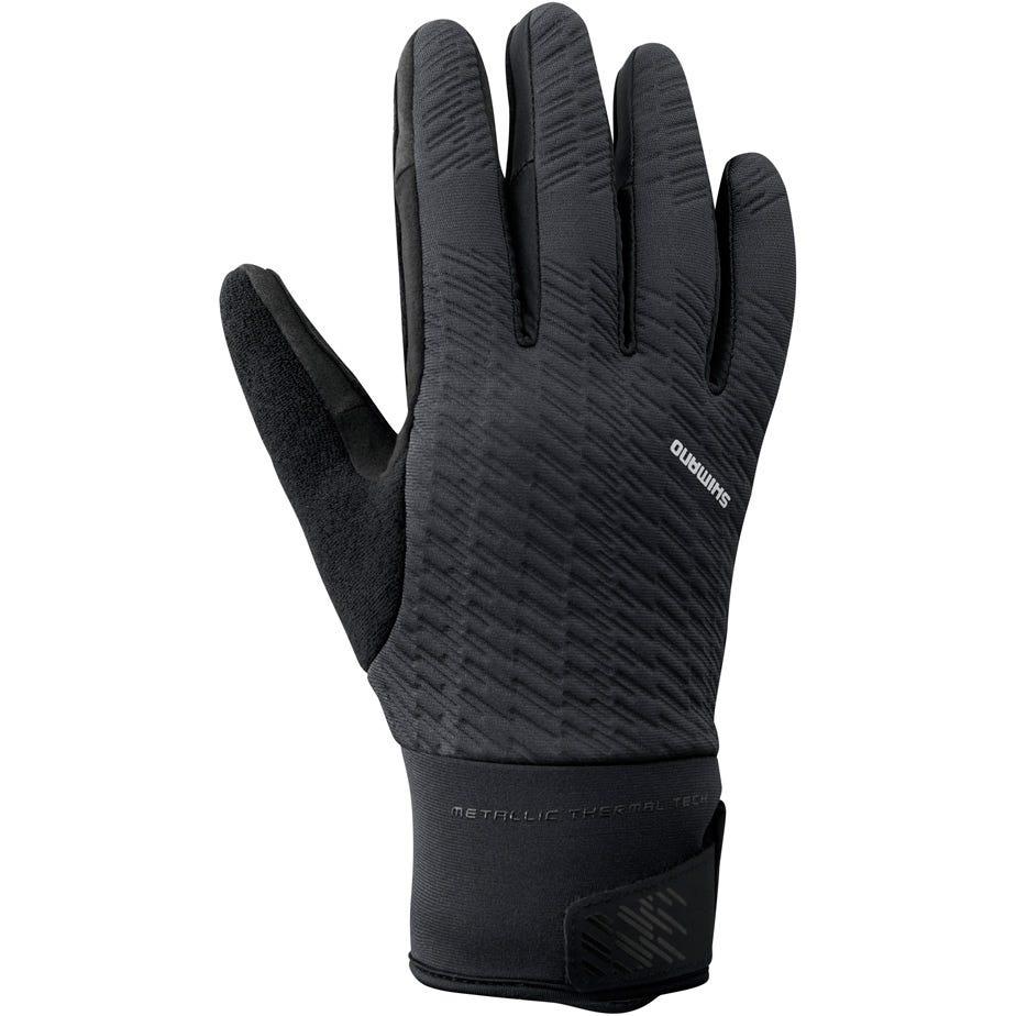 Shimano Clothing Unisex Windbreak Thermal Reflective Gloves