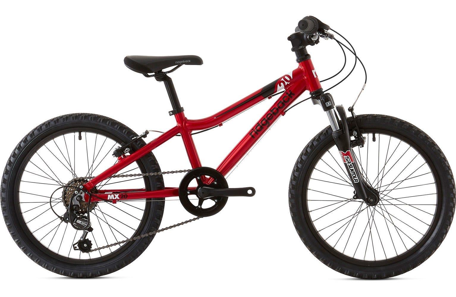 Ridgeback 2020 Mx20 20 Inch Wheel Red Ex Display Bike