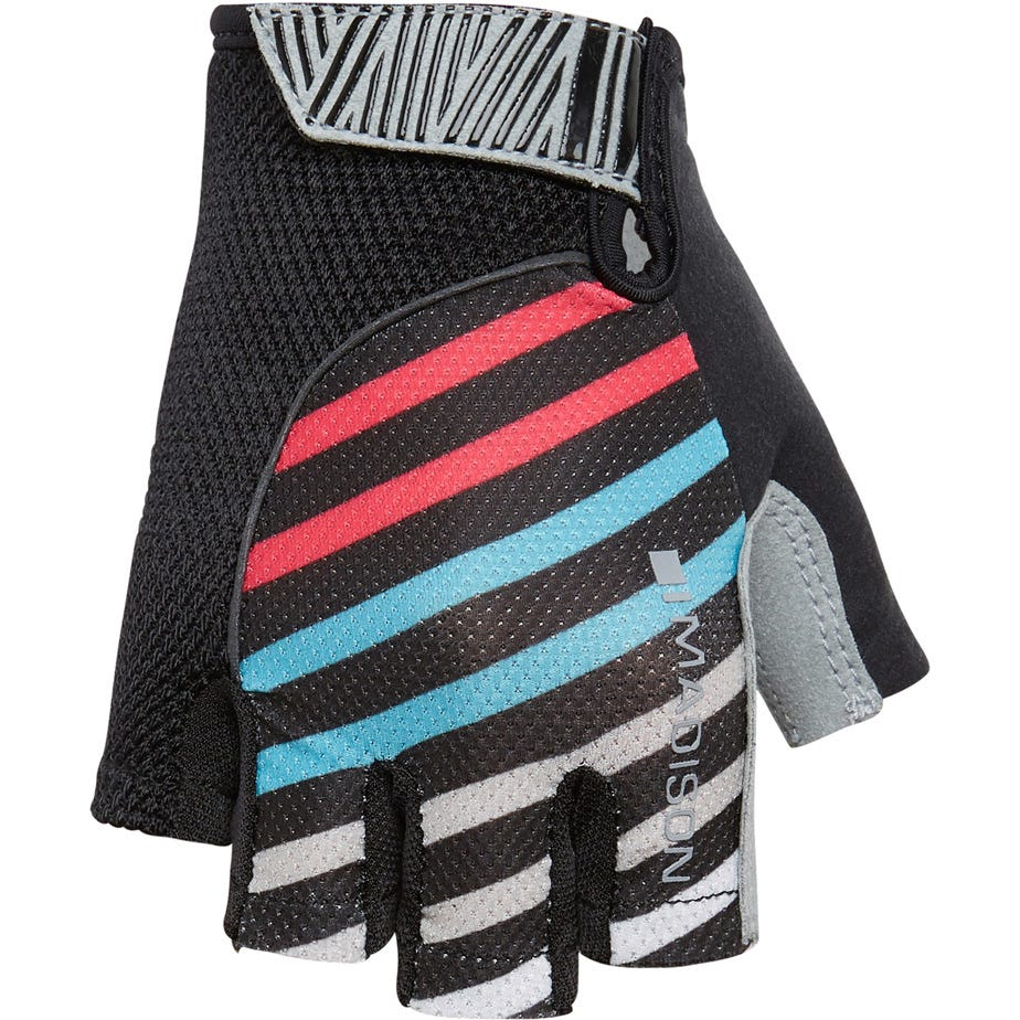 Madison Sportive women's mitts, stripes