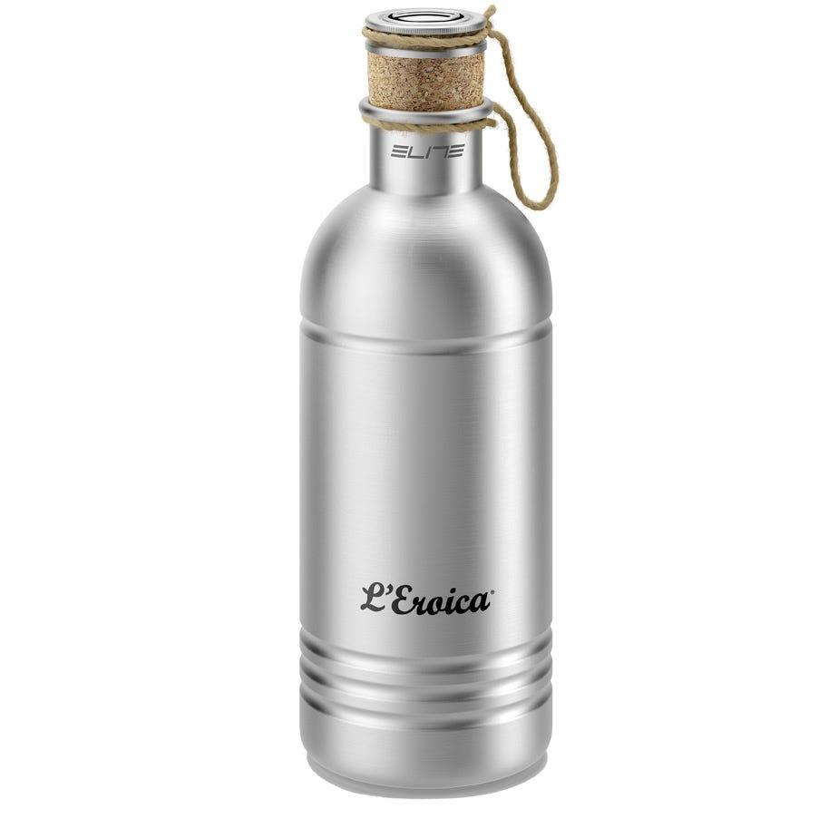 Elite Eroica aluminium bottle with cork stopper 600 ml