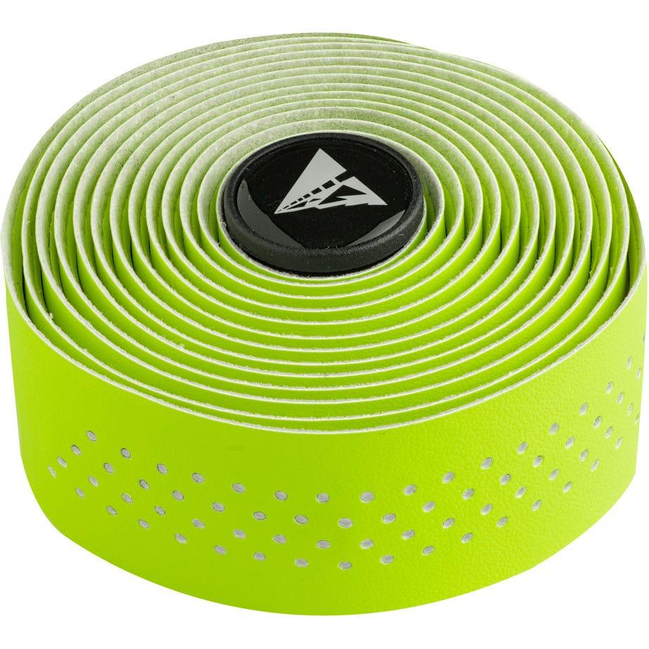 Profile Design Perforated Handlebar Tape - Hi-Vis Green/W
