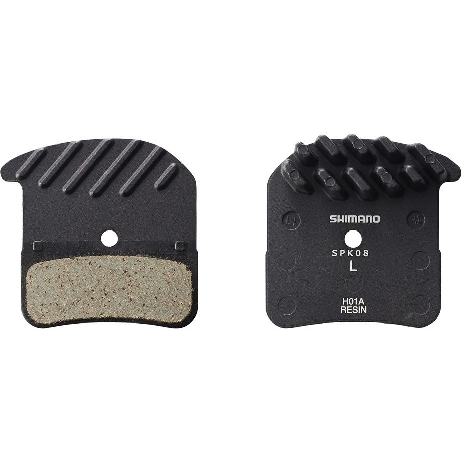 Shimano Spares H01A Saint BR-M820 disc brake pads, steel backed, resin