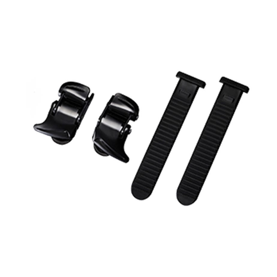 Shimano Spares Universal small buckle and strap set, black