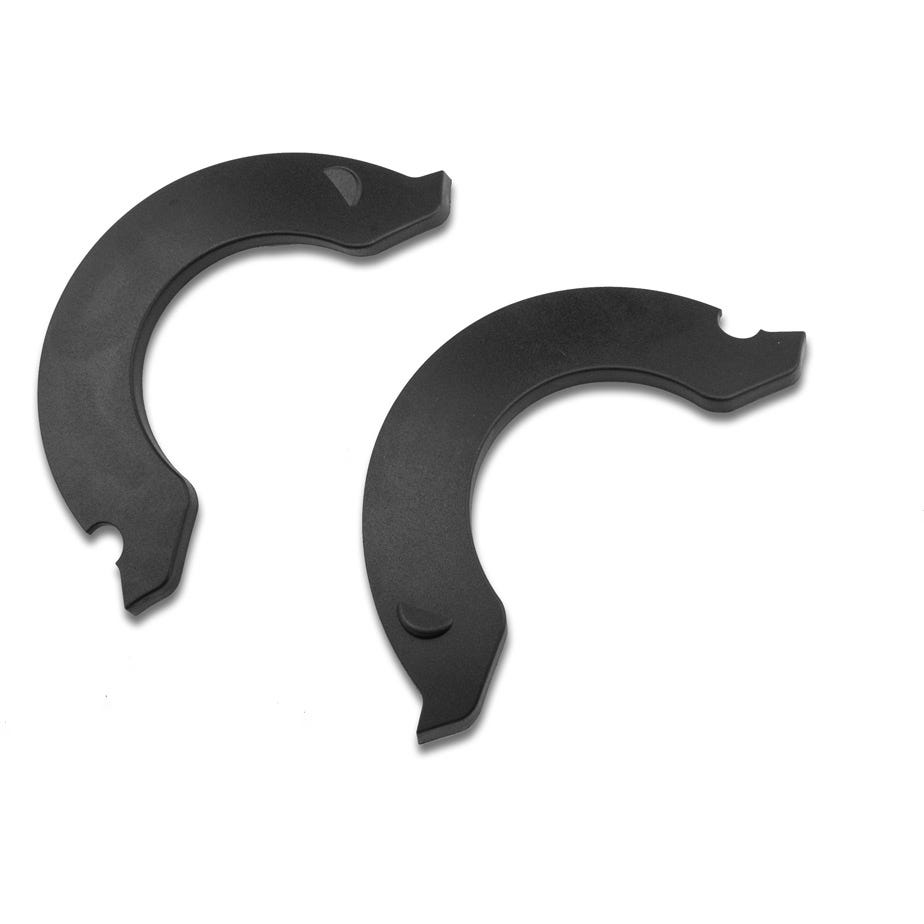 Lazer Revolution Short Side Covers, Black, Small/Medium/Large