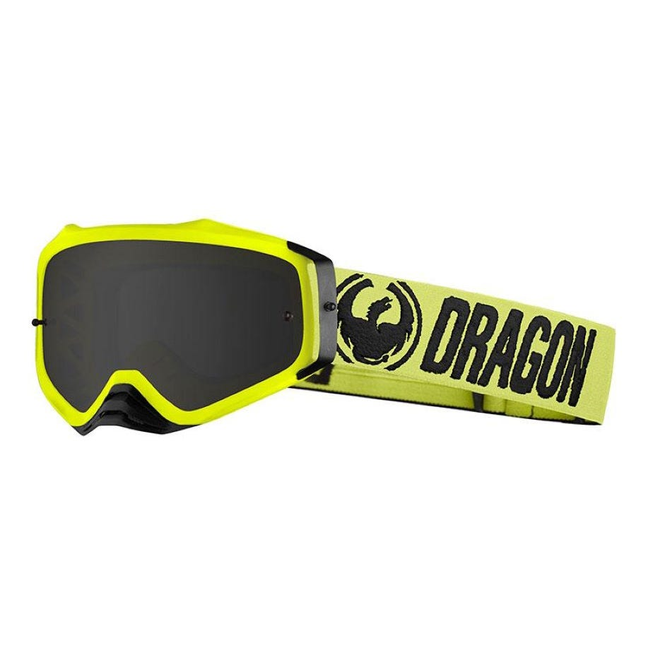Dragon Goggles MXV PLUS Hi Vis/Smoke