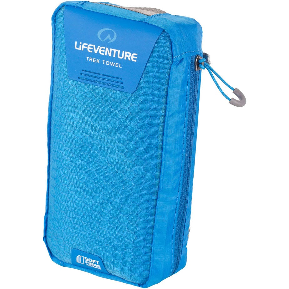 Lifeventure SoftFibre Trek Towel - Giant - Blue
