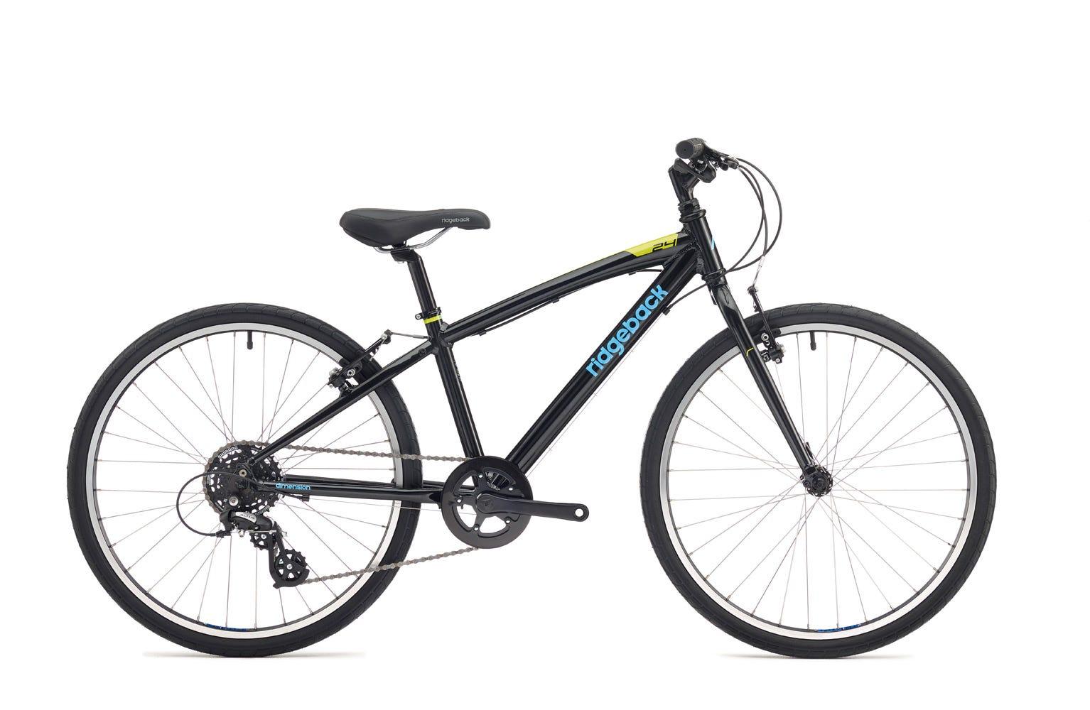 Ridgeback Dimension 24 inch bike black Ex Display