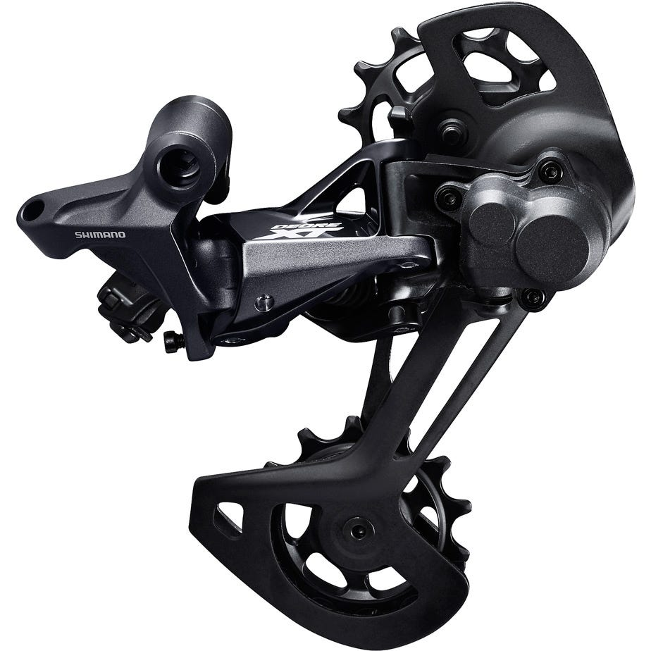 Shimano Deore XT RD-M8120 XT 12-speed rear derailleur, Shadow+, SGS, for double