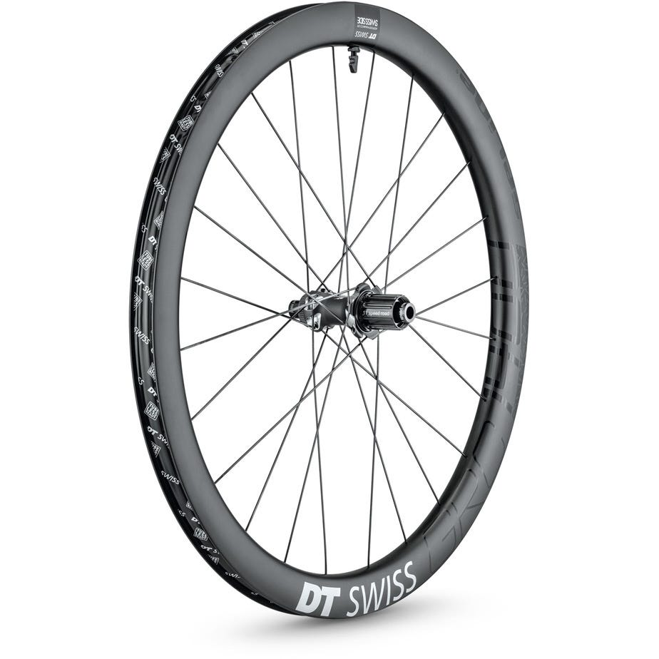 DT Swiss GRC 1400 SPLINE disc brake wheel, carbon clincher 42 x 24 mm, 650B rear