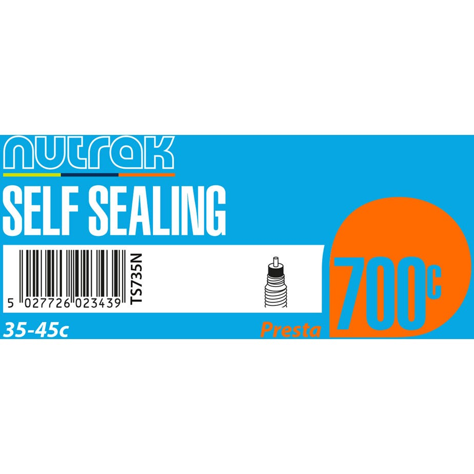 Nutrak 700 x 35 - 45C Presta - self sealing inner tube