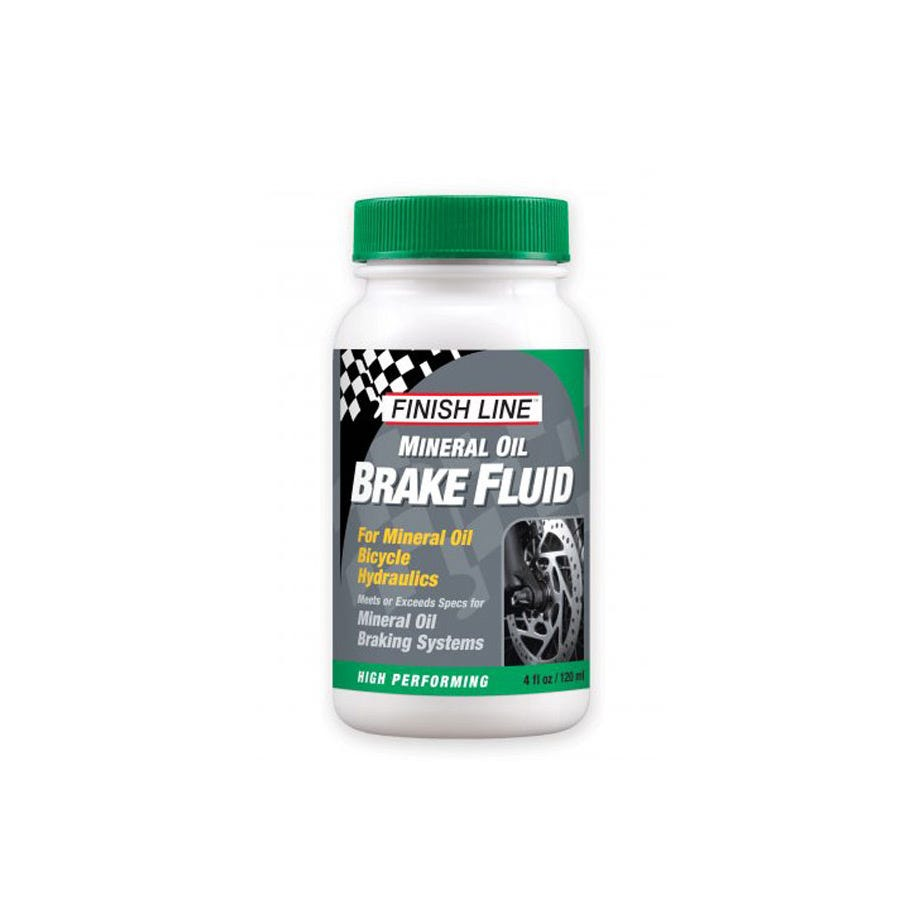 Finish Line Mineral Oil Brake Fluid - 4 oz / 120 ml