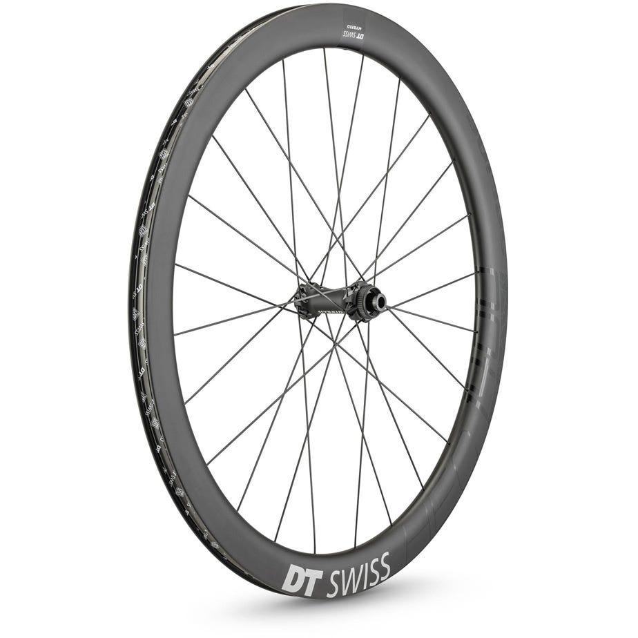 DT Swiss HEC 1400 HYBRID disc brake wheel, 47 x 19 mm rim, 100 x 12 mm axle, front