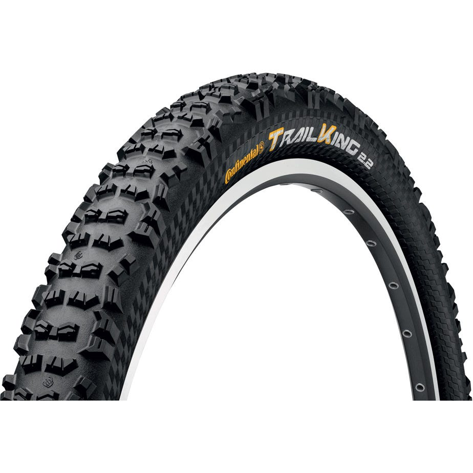 """Continental Trail King ProTectionApex 27.5 x 2.2"""" Black Chili Folding Tyre"""
