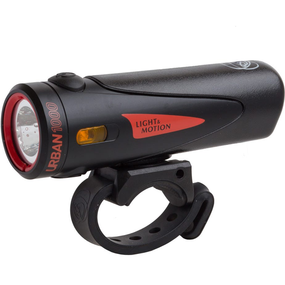 Light and Motion Urban 1000 - Black / Black light system