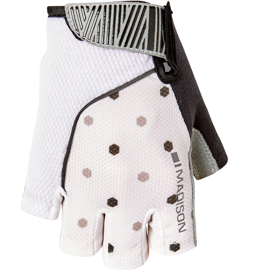 Madison Sportive women's mitts, hex dots