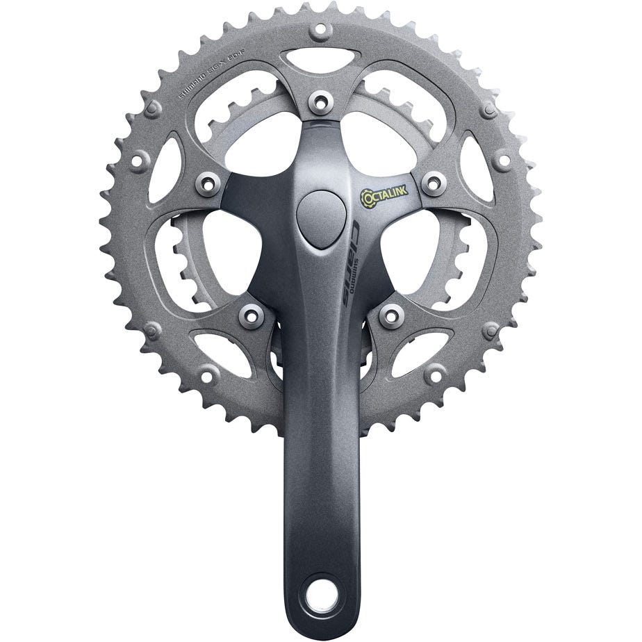 Shimano Claris FC-2450 Claris Octalink compact chainset, 8-seed