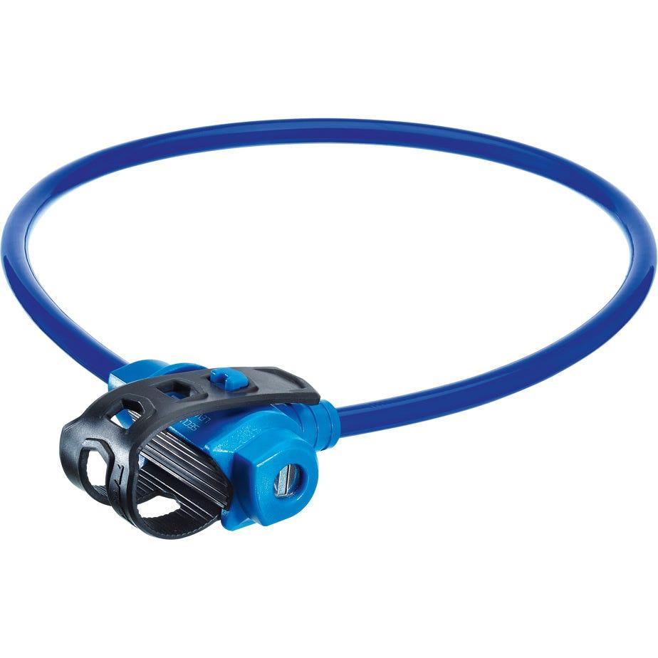 Trelock Security Cable KS211 75cm FIXXGO KIDS Blue