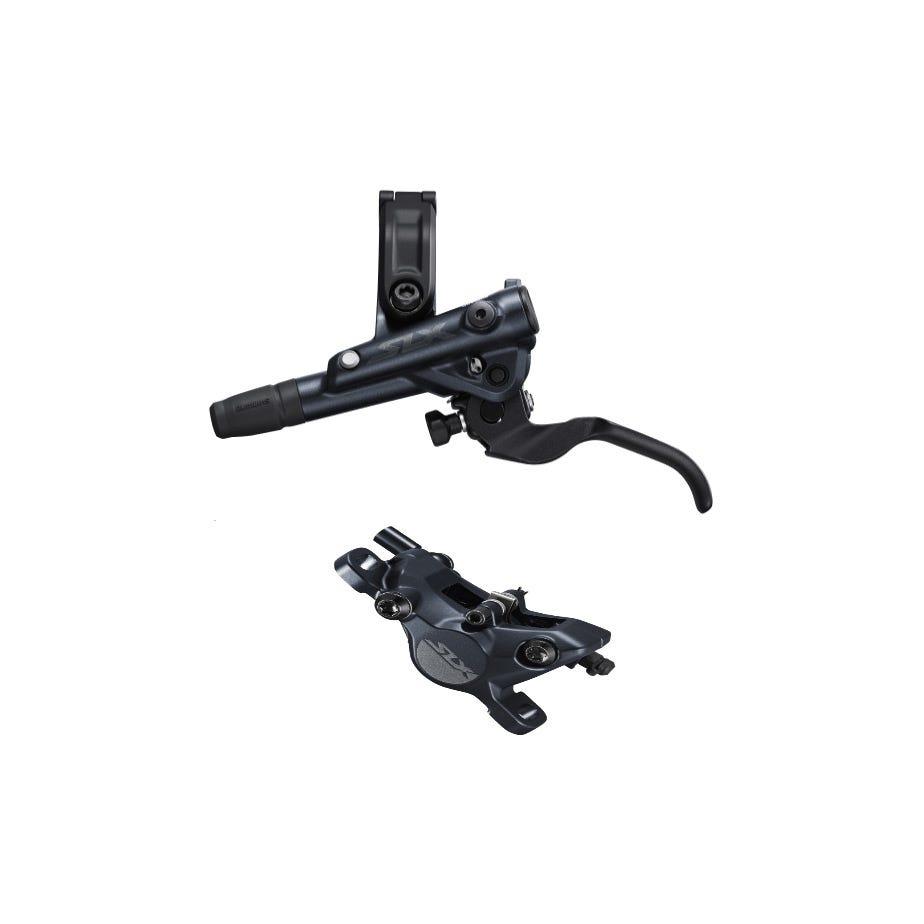 Shimano SLX BR-M7100/BL-M7100 SLX bled brake lever/post mount calliper, rear left