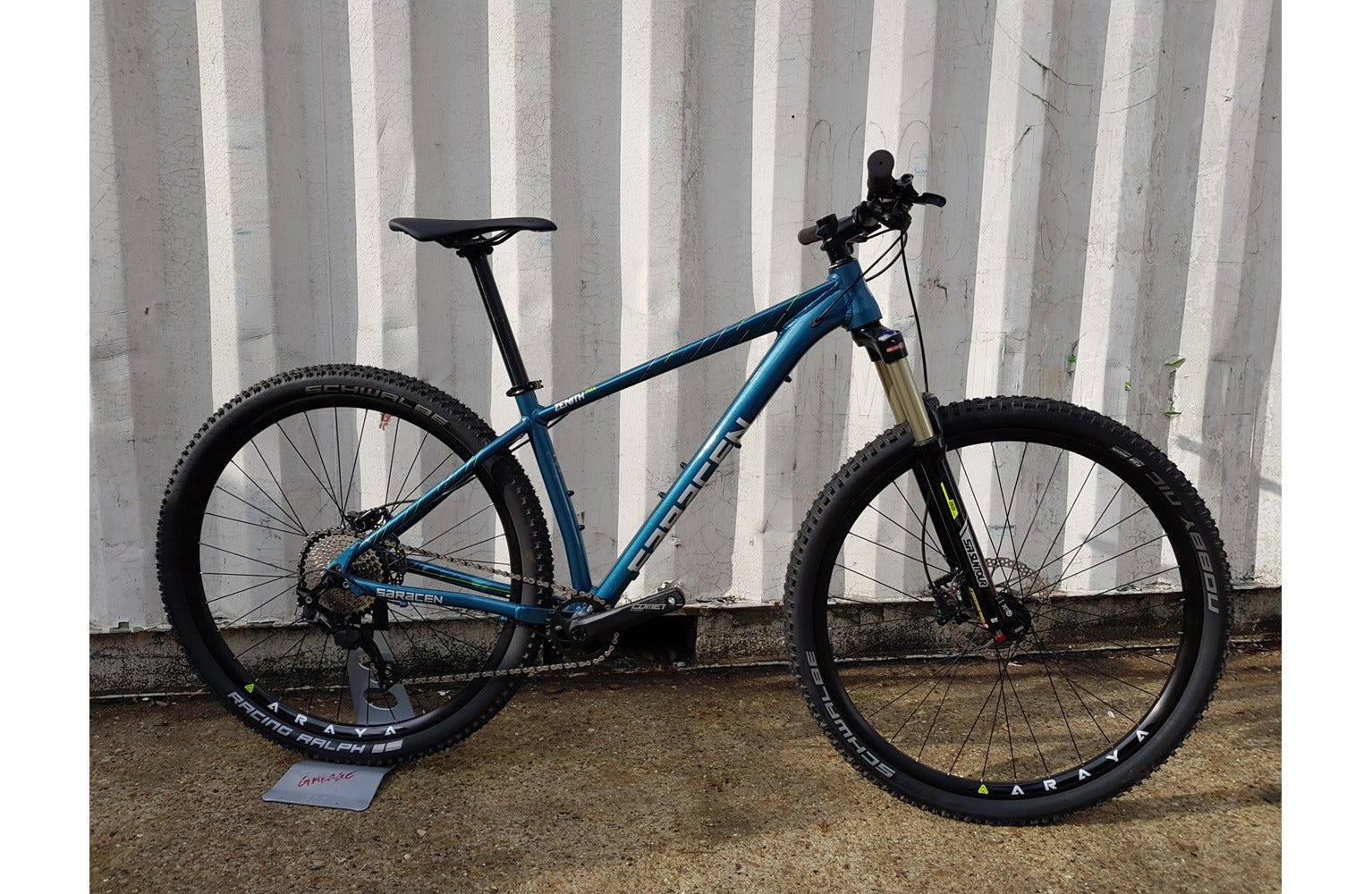 Saracen Zenith Trail 29er 17 inch Ex Brand Sample Bike