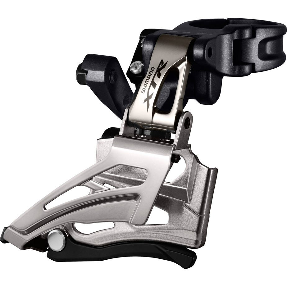 Shimano XTR FD-M9025-H XTR double front derailleur, conventional swing, dual pull