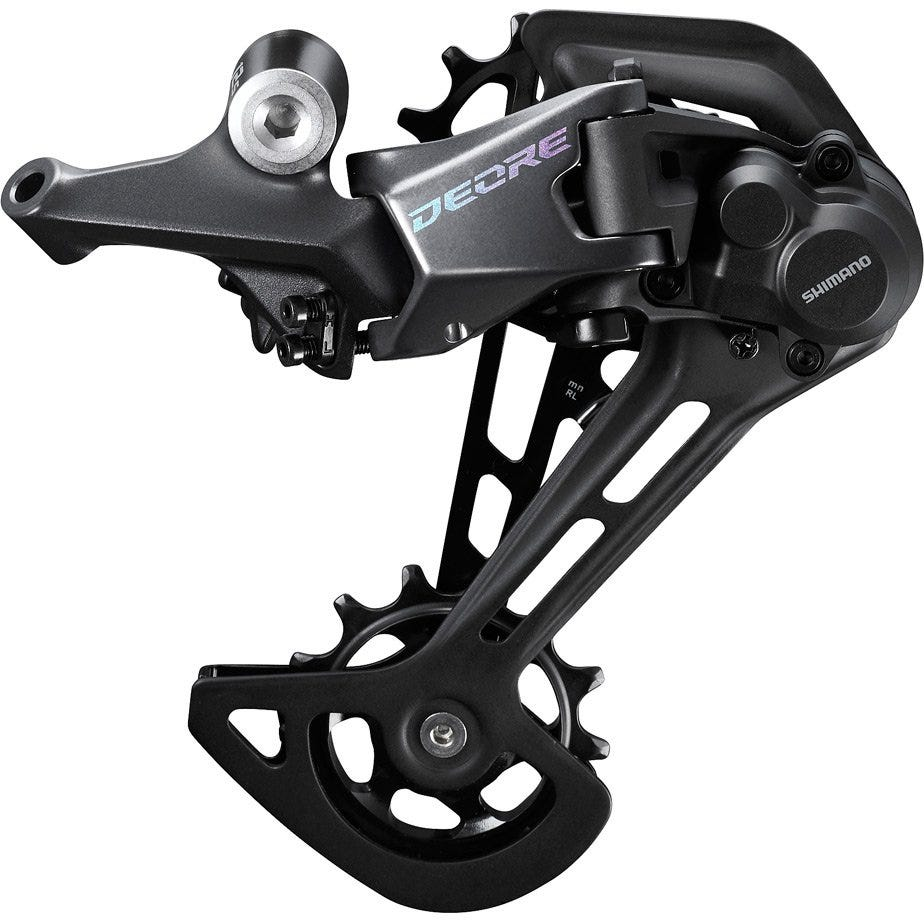 Shimano Deore Deore M6100 rear derailleur, 12-speed, Shadow+, SGS long cage