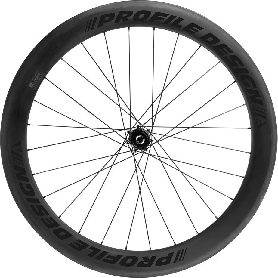 Profile Design 58 TwentyFour Full Carbon Clincher Wheelset