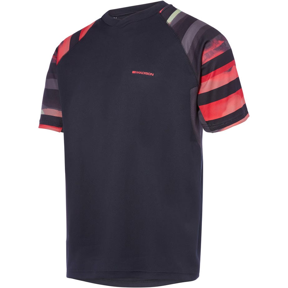 Madison Zenith men's short sleeve jersey, haze