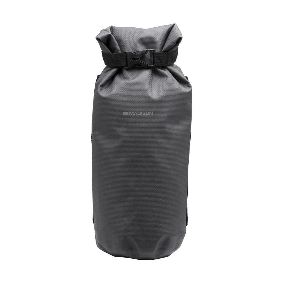 Madison Caribou waterproof, welded cylinder roll bag, suits fork cradle MCB911