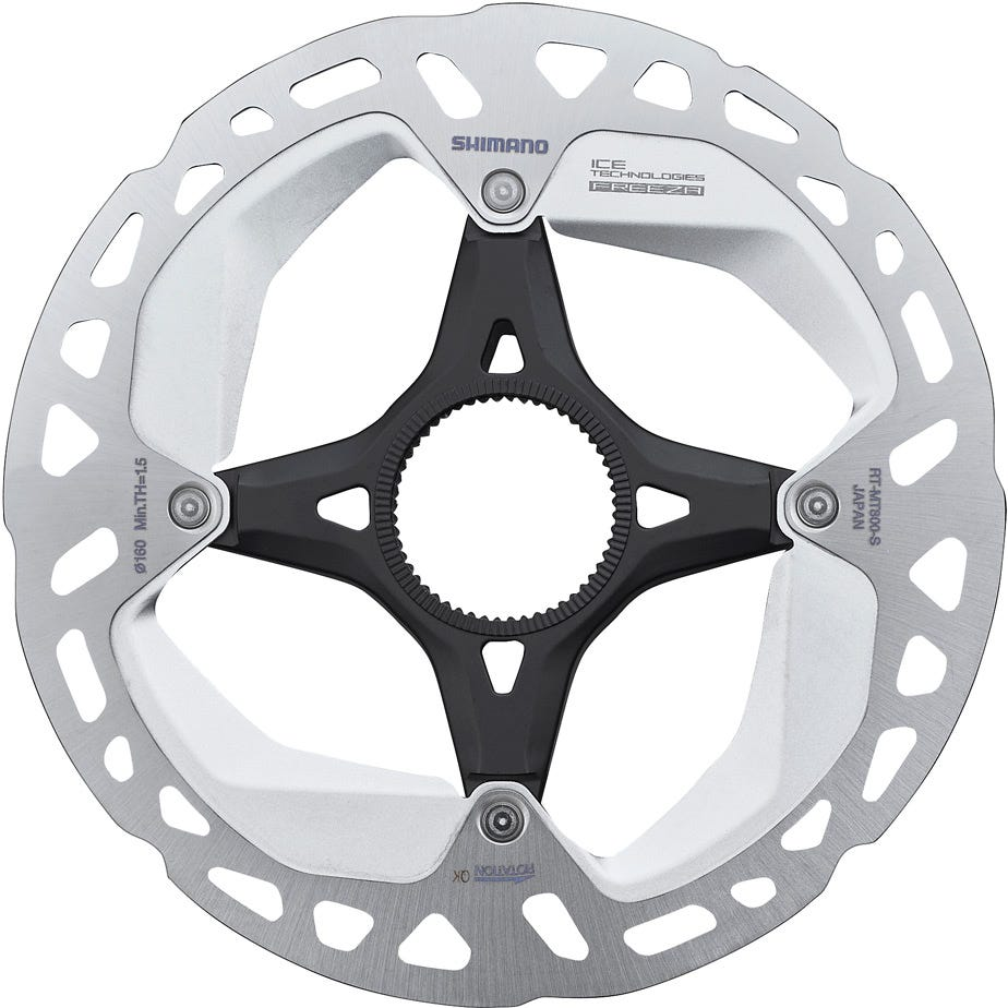 Shimano Deore XT RT-MT800 Ice Tech Disc Rotor with Lockring