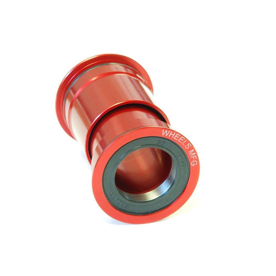 Wheels Manufacturing PressFit 30 Angular Contact Bearing - Red