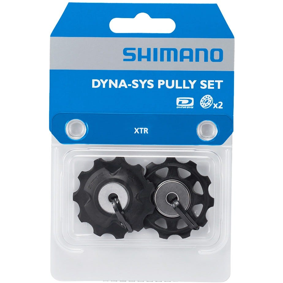 Shimano Spares XTR Saint RD-M986/M820 tension and guide pulley set