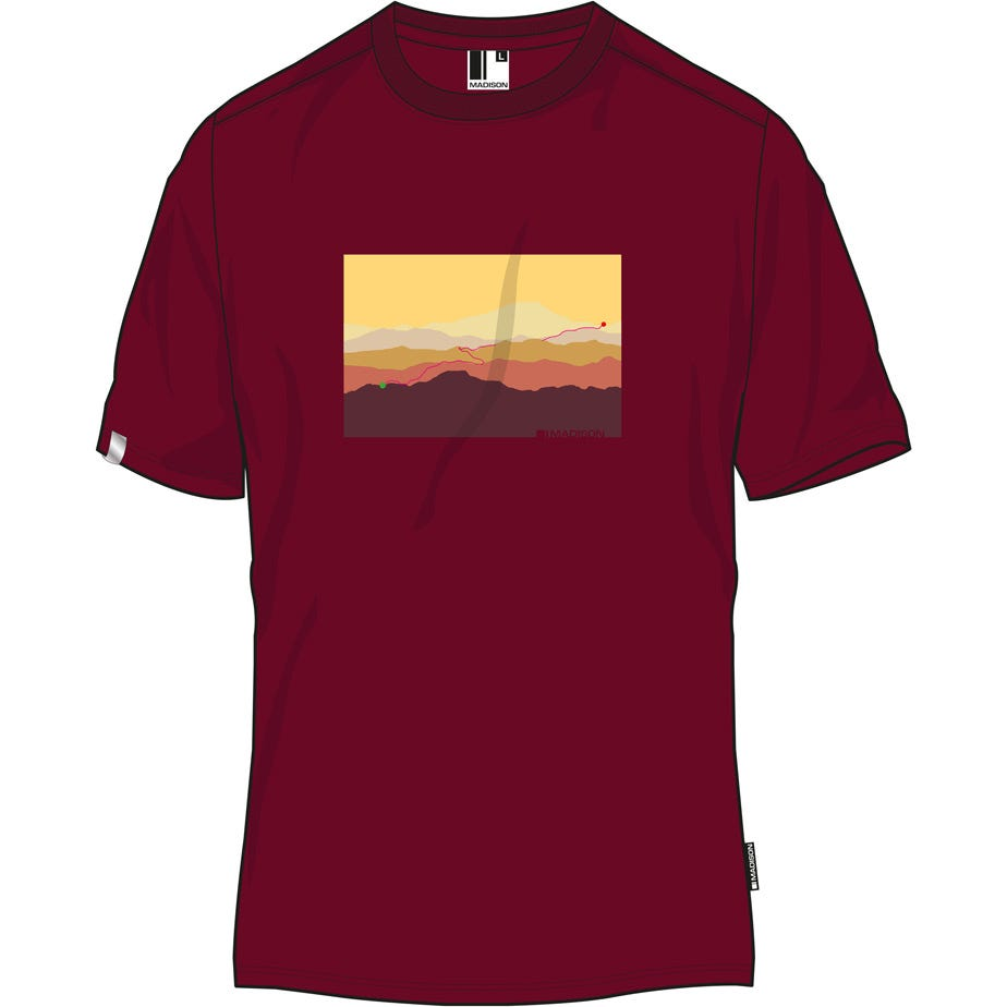 Madison Tech Tee men's, sunrise
