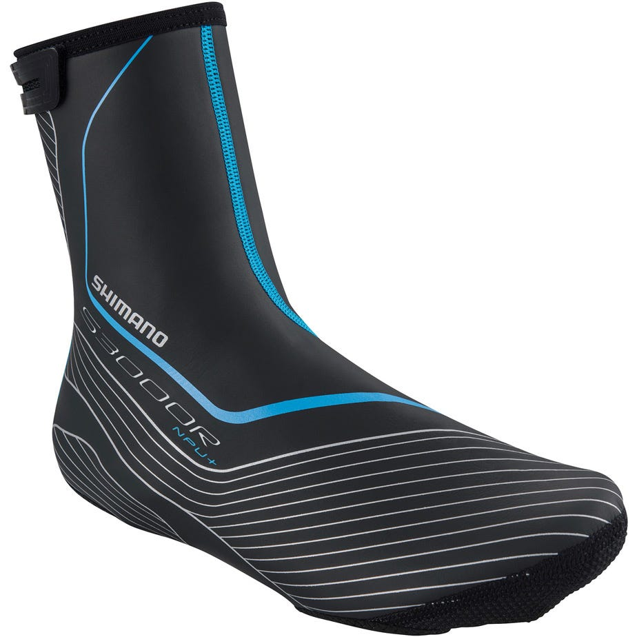 Shimano Clothing S3000R NPU+ 3 mm Neoprene overshoe, with BCF and PU coating