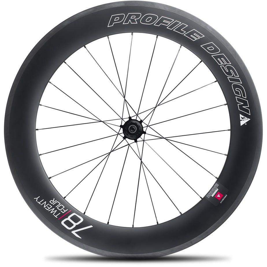 Profile Design 78 Twenty Four Full Carbon Clincher Wheel - Rear