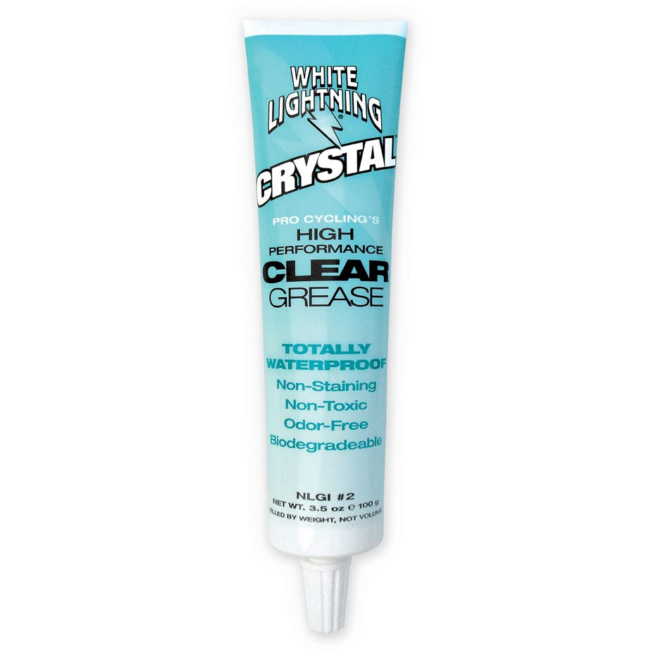 White Lightning Crystal, Clear Grease